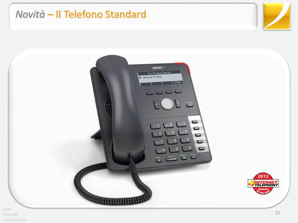 Novità – Il Telefono Standard