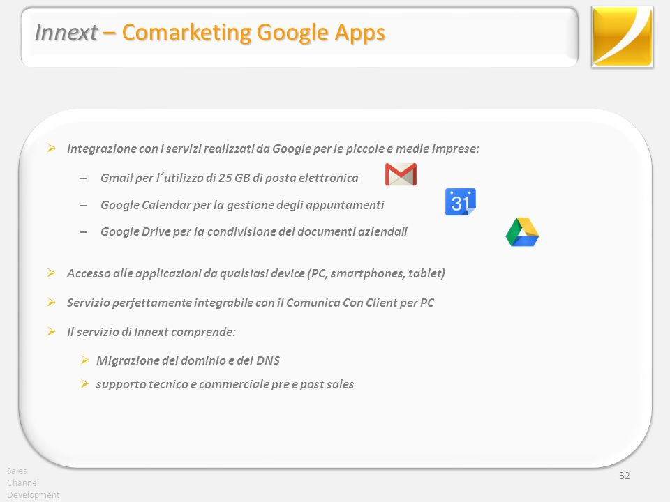 Innext – Comarketing Google Apps