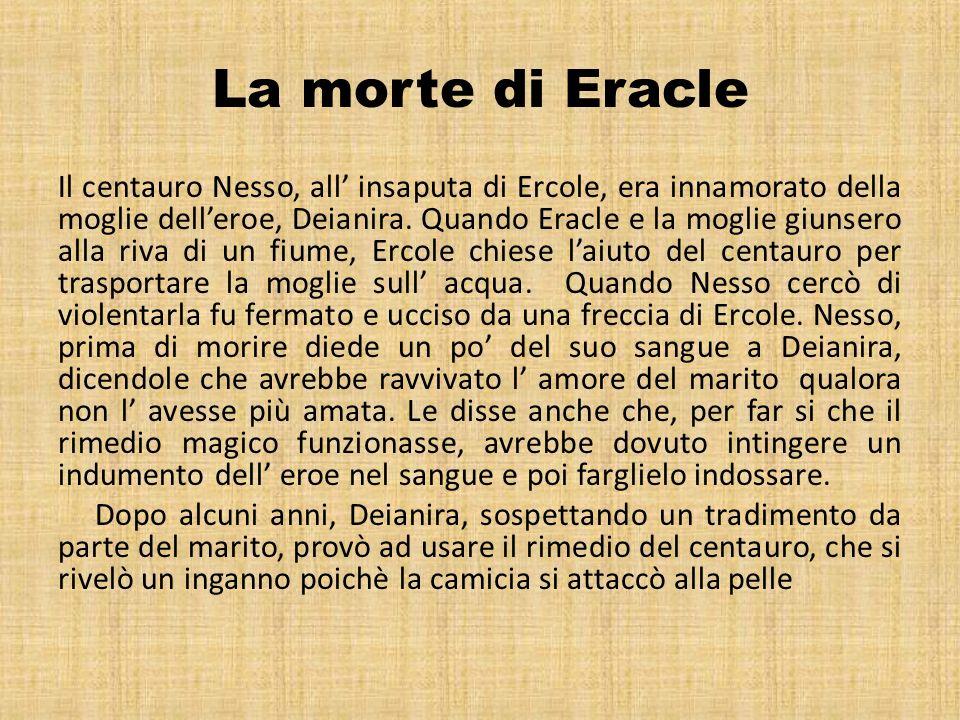 La morte di Eracle
