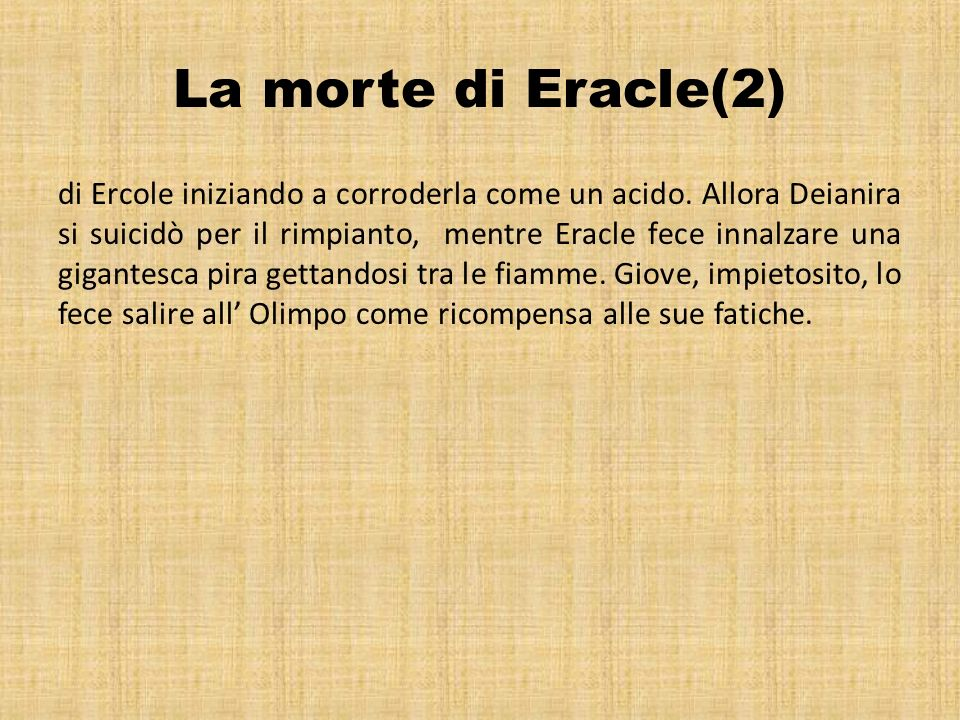 La morte di Eracle(2)