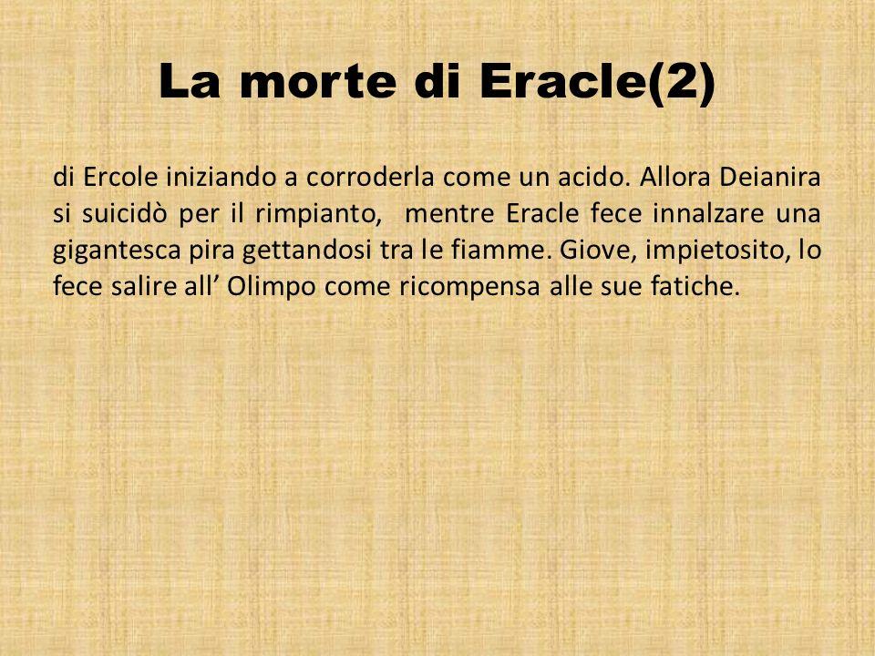 La morte di Eracle(2)