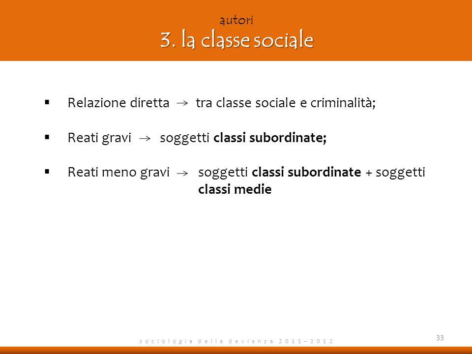 autori 3. la classe sociale