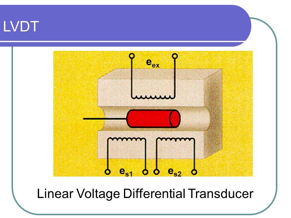 LVDT eex es1 es2 Linear Voltage Differential Transducer