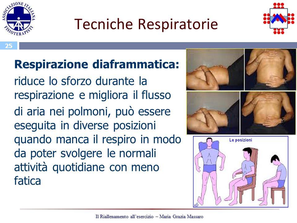 Tecniche Respiratorie