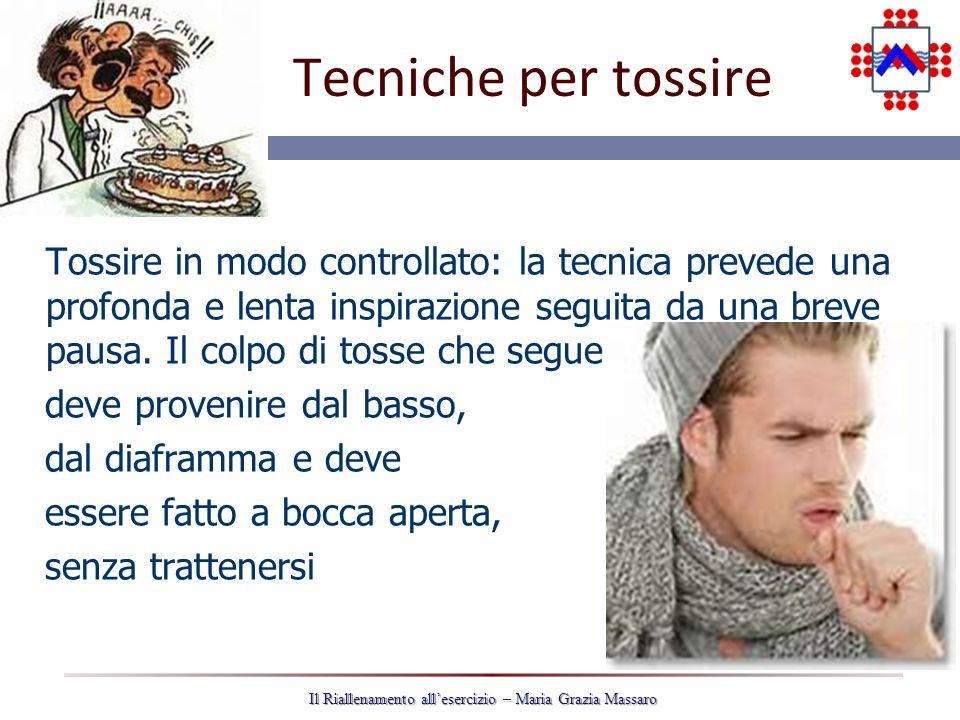 Tecniche per tossire