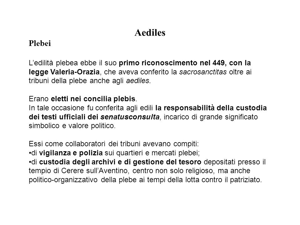 Aediles Plebei.