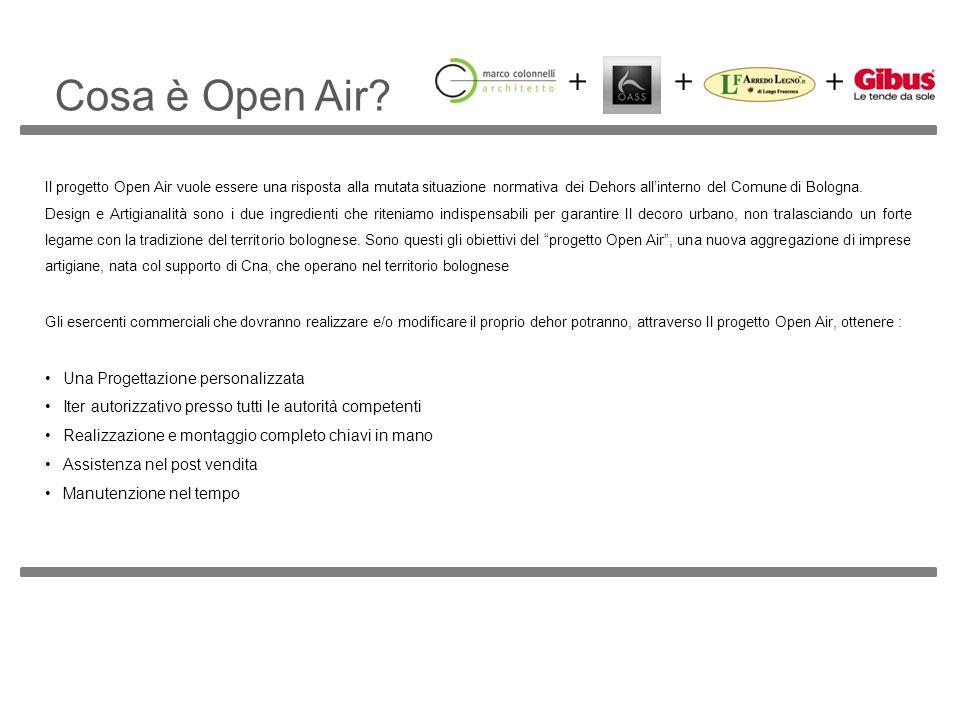Cosa è Open Air Una Progettazione personalizzata