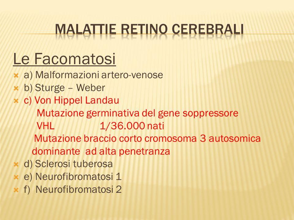 Malattie retino cerebrali