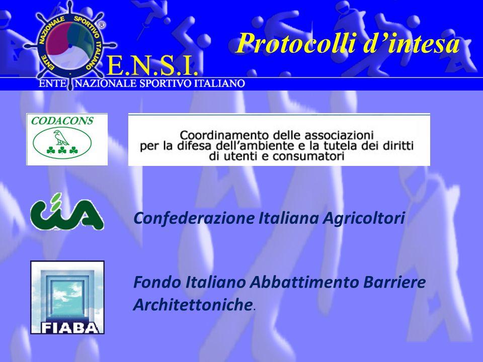 Protocolli d'intesa Confederazione Italiana Agricoltori