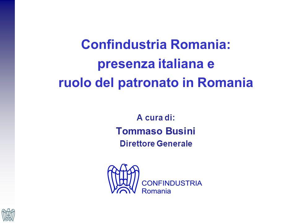 Confindustria Romania: ruolo del patronato in Romania