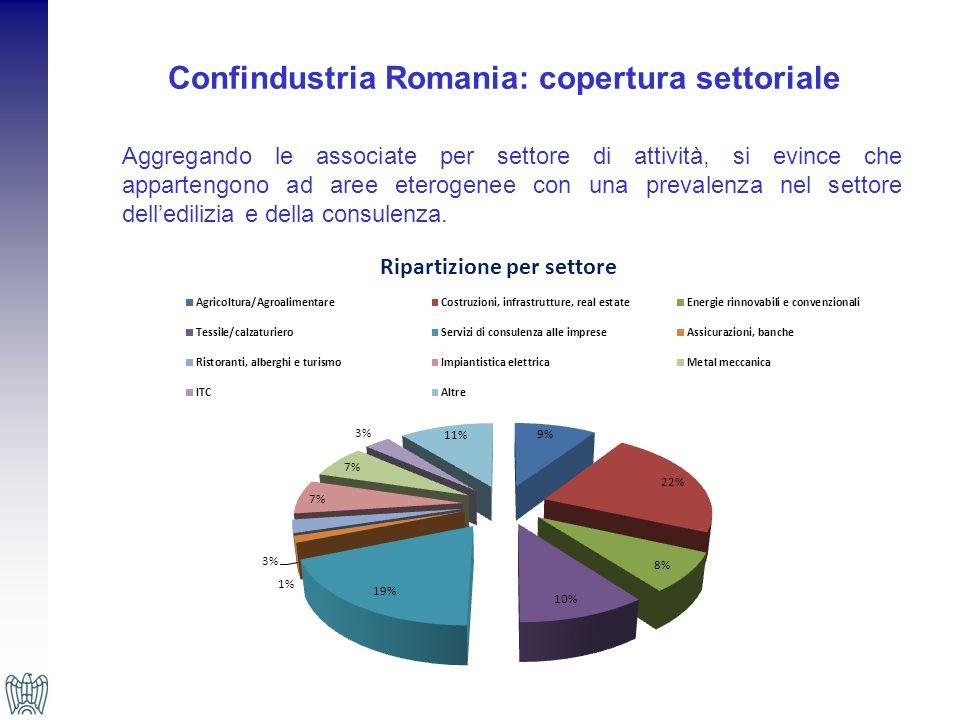 Confindustria Romania: copertura settoriale