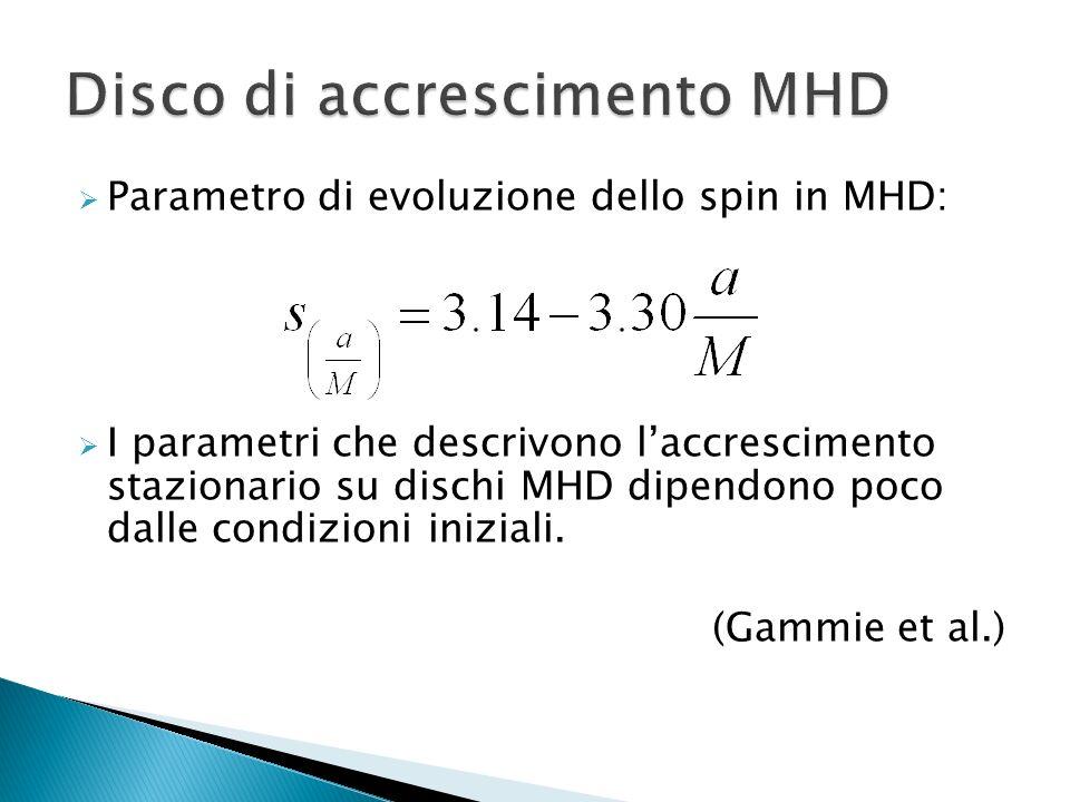 Disco di accrescimento MHD