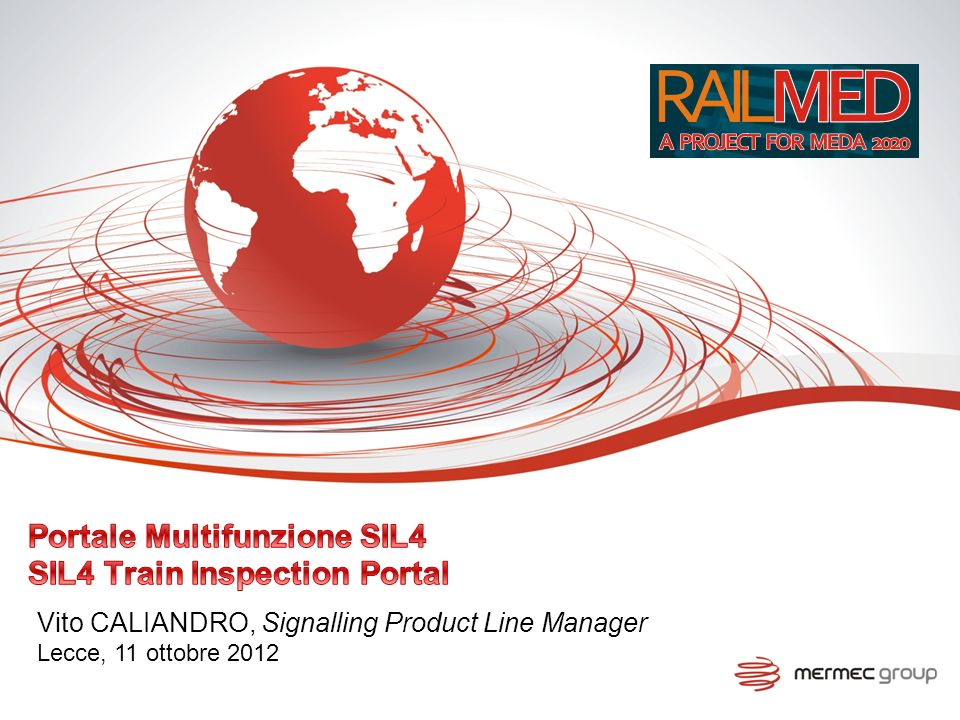 Portale Multifunzione SIL4 SIL4 Train Inspection Portal