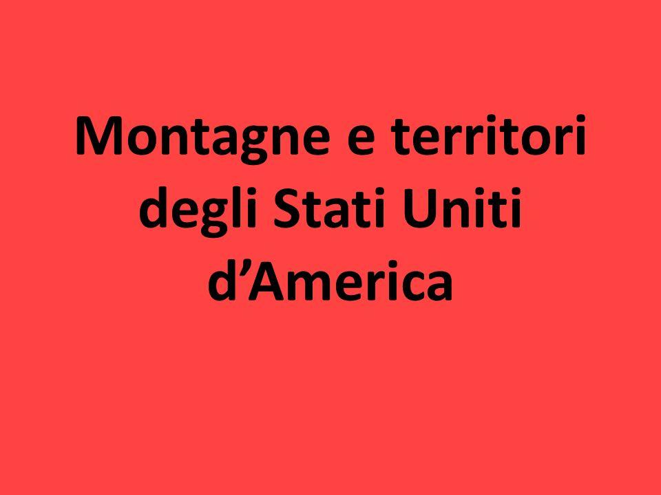 Montagne e territori degli Stati Uniti d'America