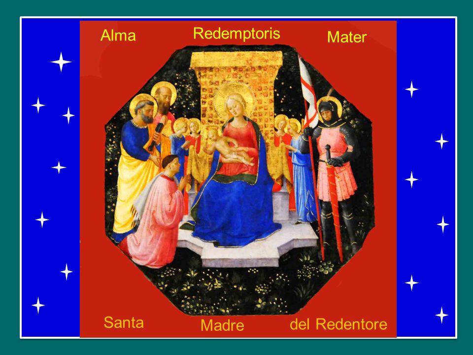 Alma Redemptoris Mater Santa Madre del Redentore