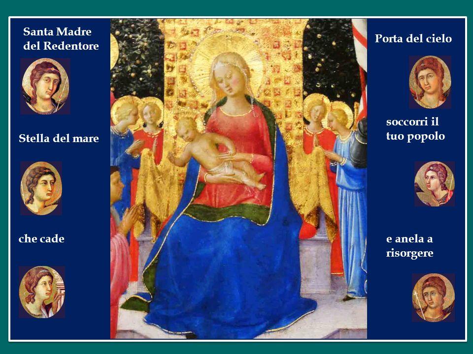 Santa Madre del Redentore. Porta del cielo. soccorri il tuo popolo.