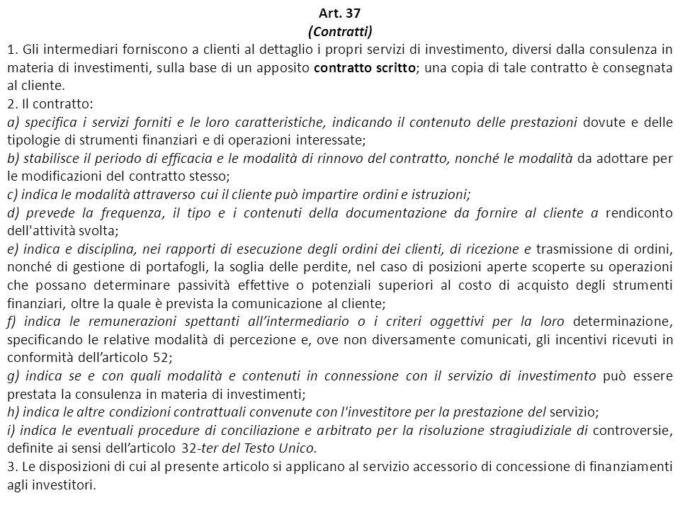 Art. 37 (Contratti)