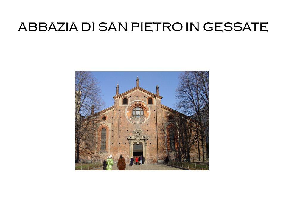 ABBAZIA DI SAN PIETRO IN GESSATE