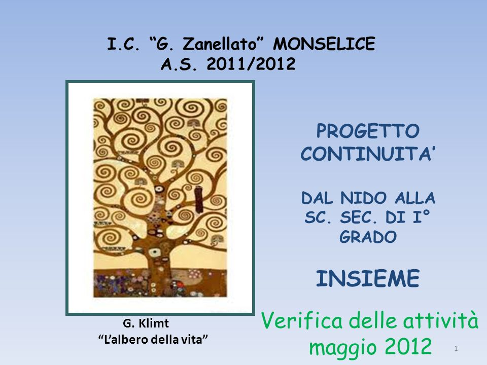 I.C. G. Zanellato MONSELICE A.S. 2011/2012
