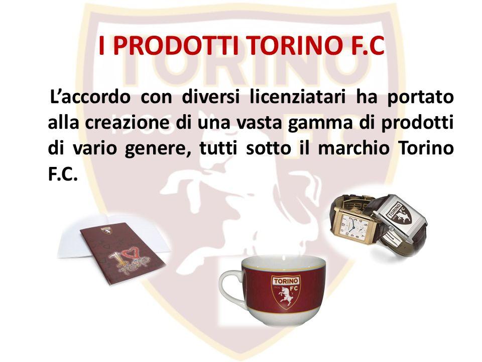 I PRODOTTI TORINO F.C