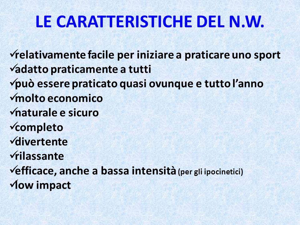 LE CARATTERISTICHE DEL N.W.