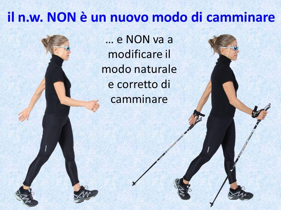 … e NON va a modificare il modo naturale e corretto di camminare