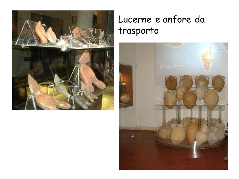 Lucerne e anfore da trasporto