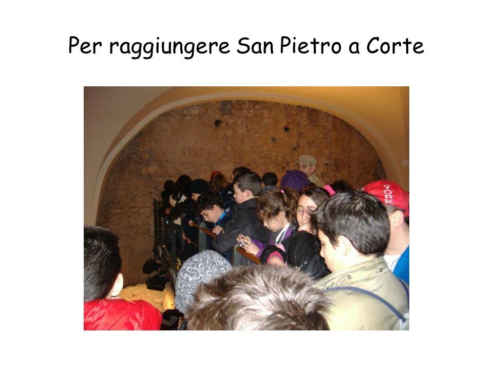 Per raggiungere San Pietro a Corte