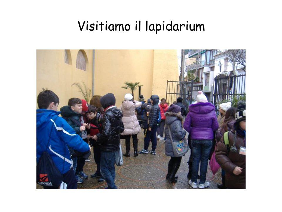 Visitiamo il lapidarium
