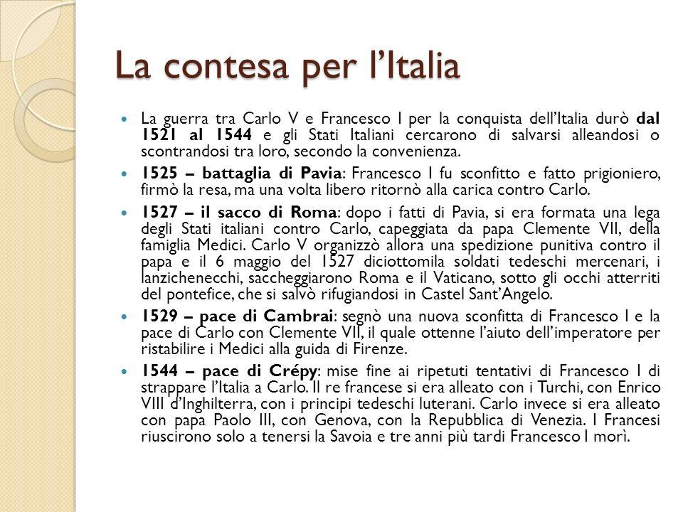 La contesa per l'Italia