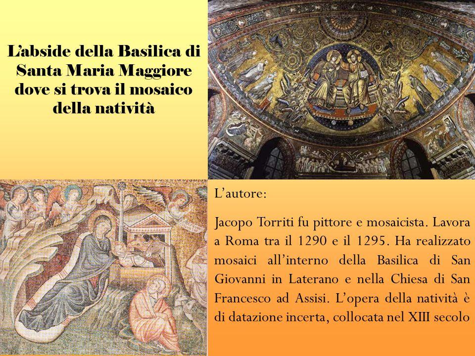 L'abside della Basilica di Santa Maria Maggiore dove si trova il mosaico della natività