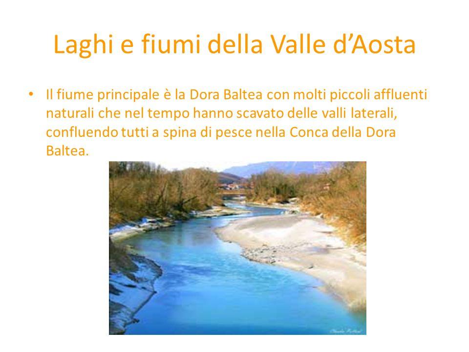 Laghi e fiumi della Valle d'Aosta