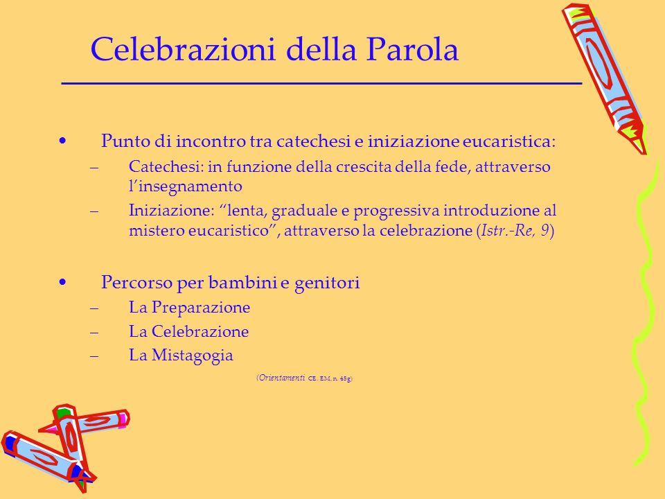 Celebrazioni della Parola