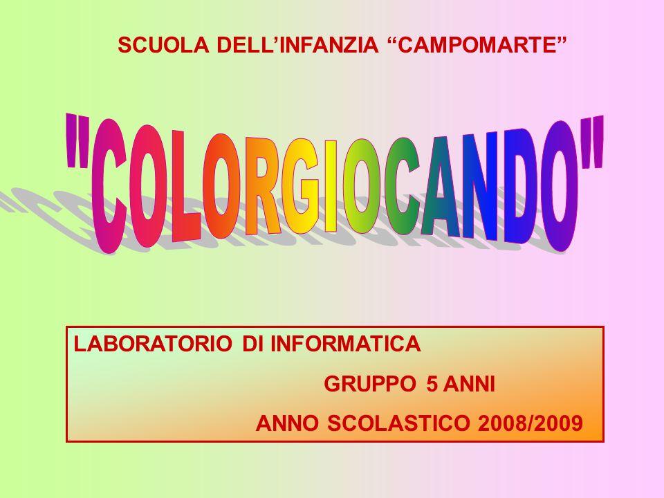 COLORGIOCANDO SCUOLA DELL'INFANZIA CAMPOMARTE