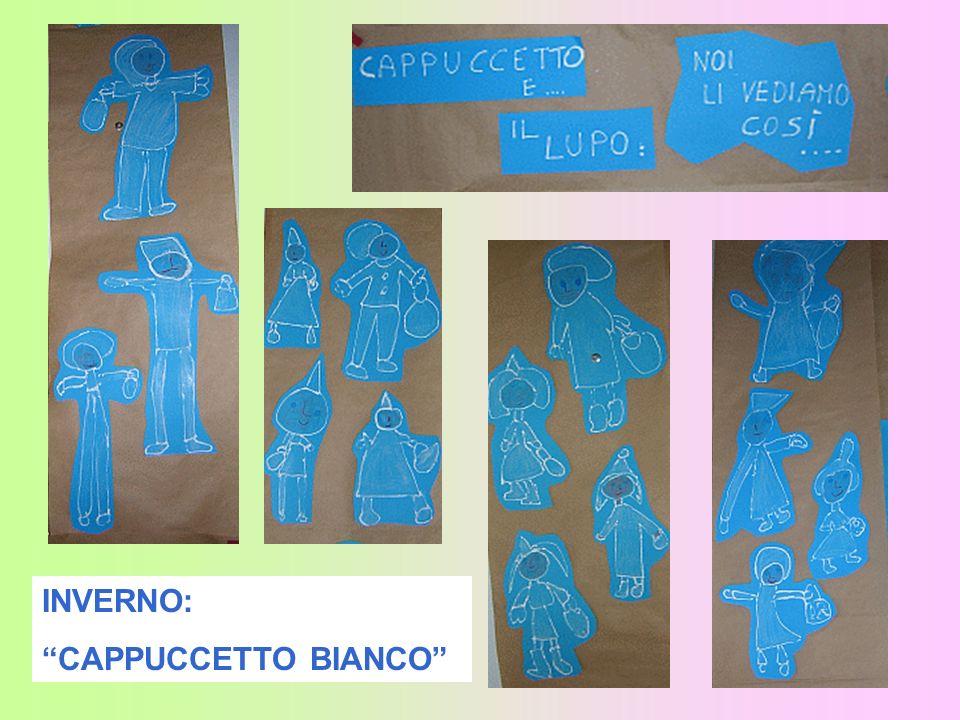 INVERNO: CAPPUCCETTO BIANCO