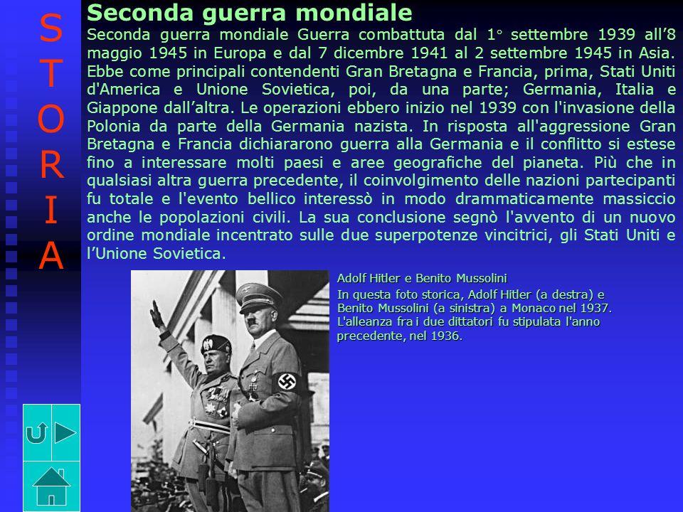 STORIA Seconda guerra mondiale
