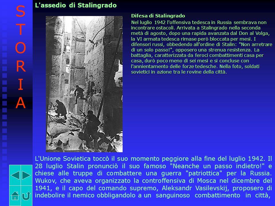 STORIA L assedio di Stalingrado