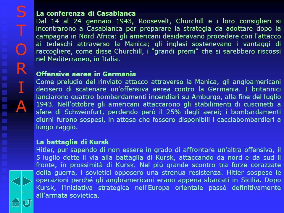 STORIA La conferenza di Casablanca