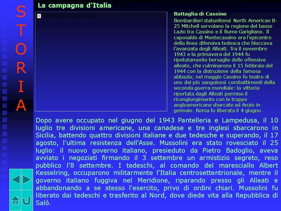 STORIA La campagna d Italia