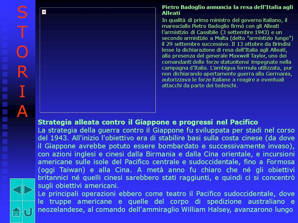STORIA Strategia alleata contro il Giappone e progressi nel Pacifico