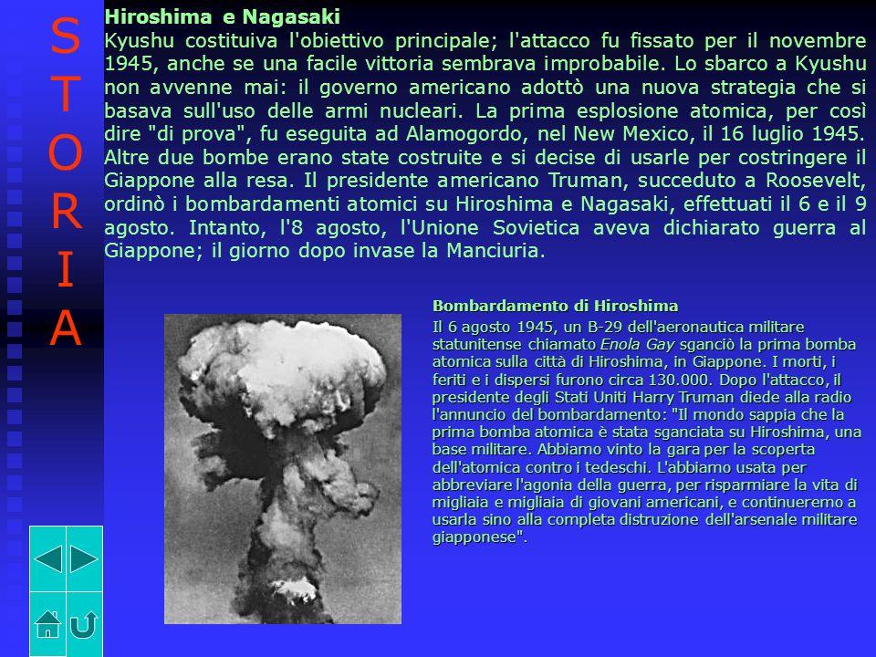 STORIA Hiroshima e Nagasaki