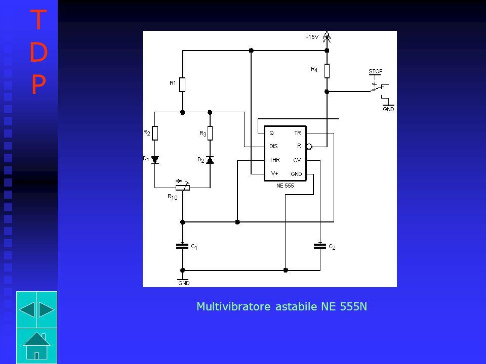 T D P Multivibratore astabile NE 555N