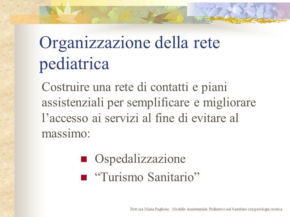 Organizzazione della rete pediatrica