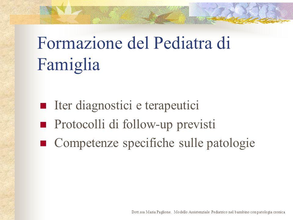 Formazione del Pediatra di Famiglia