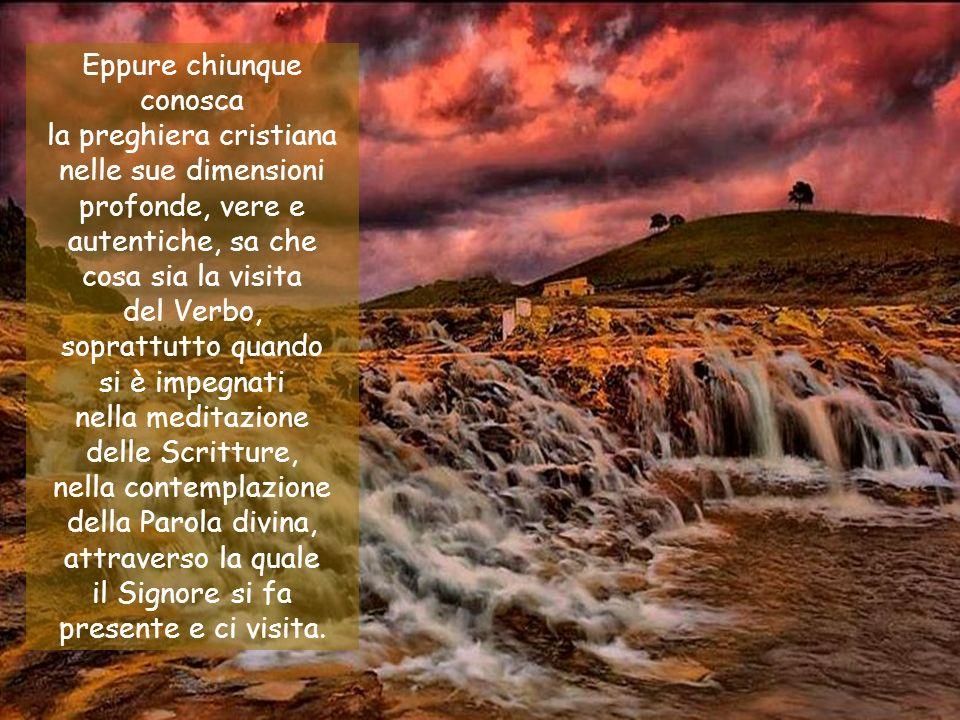 nella contemplazione della Parola divina, attraverso la quale