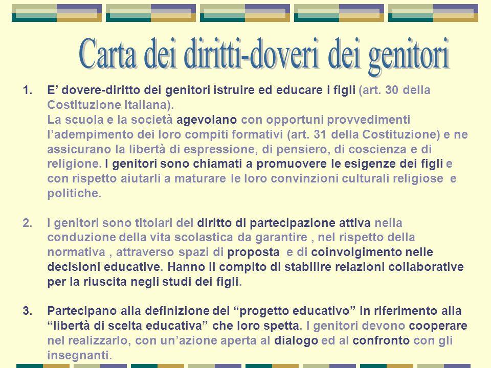 Carta dei diritti-doveri dei genitori