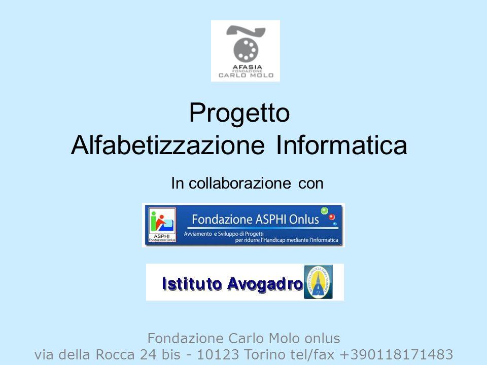 Progetto Alfabetizzazione Informatica