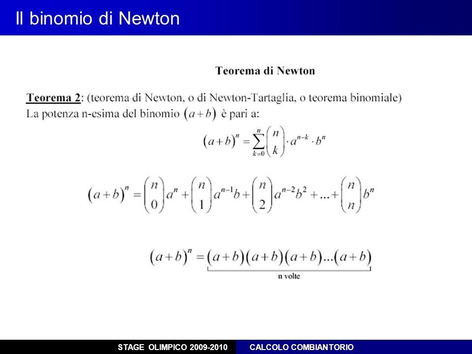 Il binomio di Newton