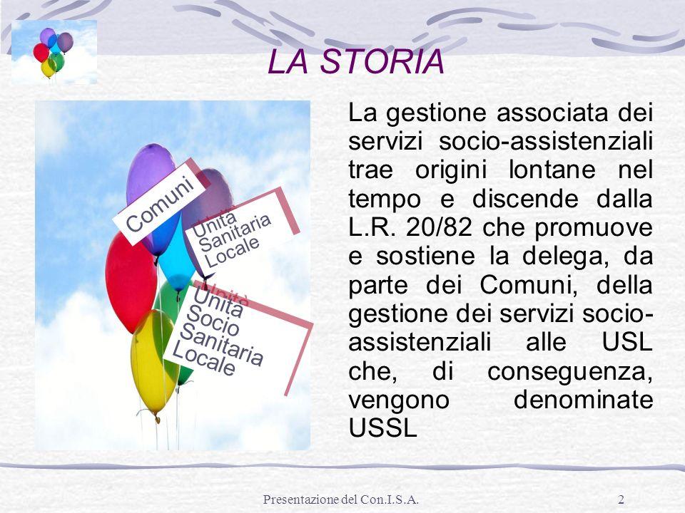 Presentazione del Con.I.S.A.