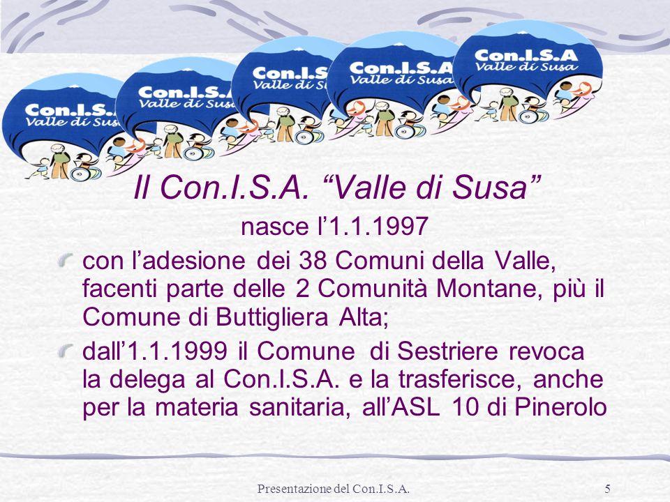Il Con.I.S.A. Valle di Susa
